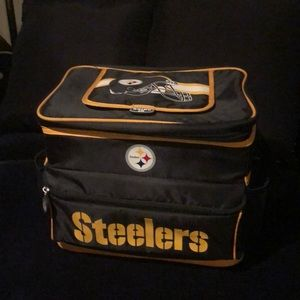 NFL The Steelers Ice Chest - Shoulder Strap- New